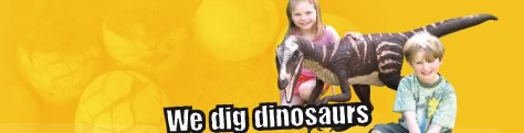 We Dig Dinosaurs